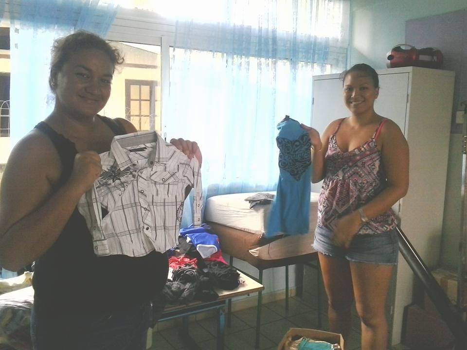 Les maîtresses de l'école Tehaaehaa collectent des dons pour les familles de leurs élèves sinistrés