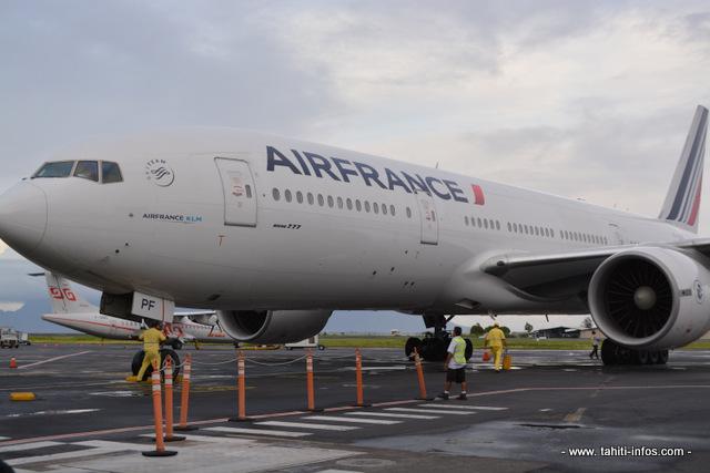 La menace de grève ne concerne que le personnel au sol de l'agence de Papeete. Si la grève démarre ce mercredi à 0h00, elle n'aura aucune incidence sur le programme des vols de la compagnie aérienne.