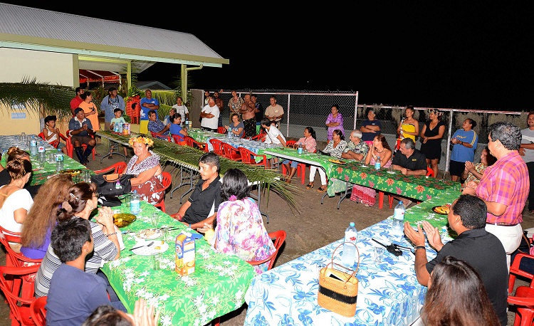 Le gouvernement à Hiva Oa pour le festival des Marquises