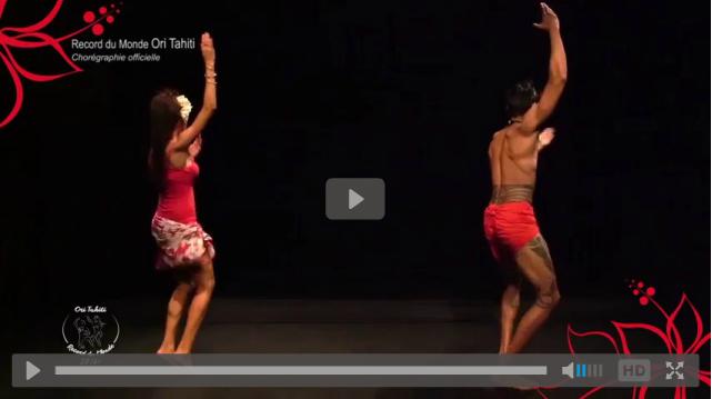 Record du monde de 'ori tahiti : apprenez la chorégraphie !