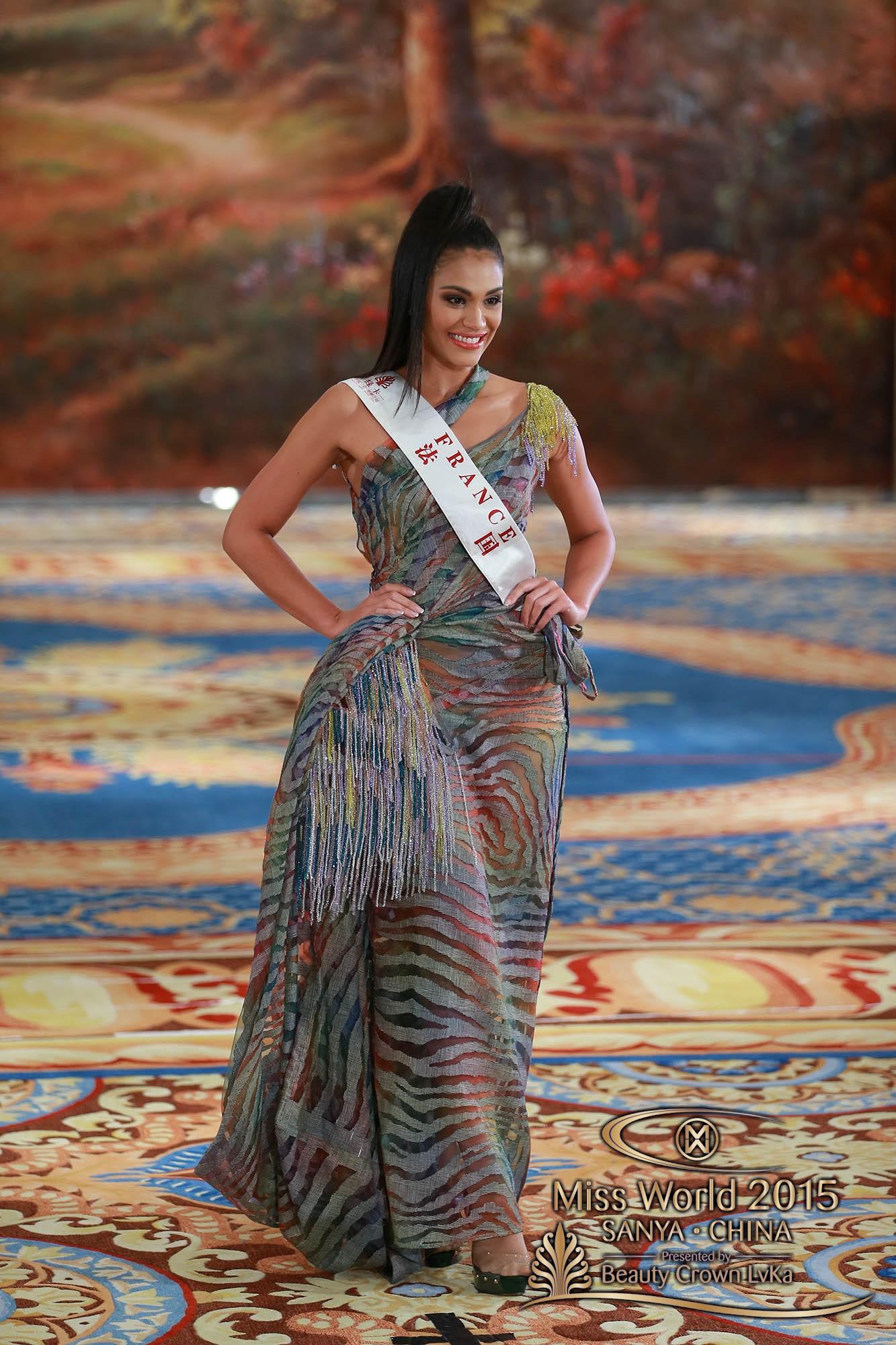 Les cinq épreuves disputées par les 117 candidates sont les suivantes: Beauté pour une Cause, Multimédia, Sports, Talent et Top Model.