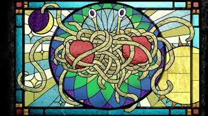 Monstre de spaghettis volant: Wellington autorise à se marier une passoire sur la tête