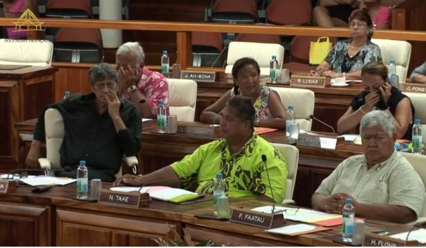L'Assemblée a voté à l'unanimité le prélèvement de 895 millions Fcfp sur les réserves CAVC de 2015 pour financer les réparations sur la côte Est, après les pluies diluviennes du 12 décembre.