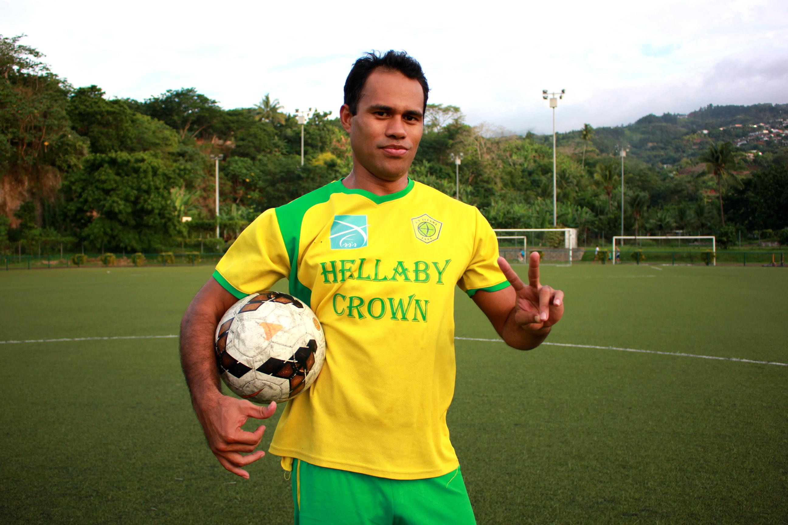 Football Ligue 1 : Temarii Tinorua, meilleur buteur du championnat !
