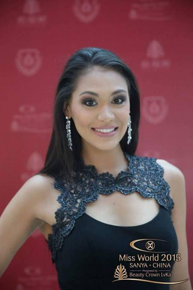 Hinarere Taputu, Miss Tahiti 2014, 1re dauphine de Miss France 2015 et 6e place à Miss Monde 2015