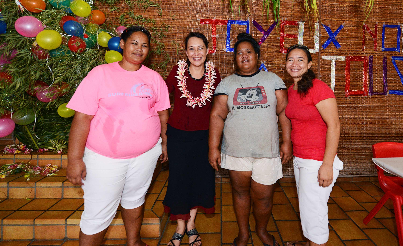 L'association Te Torea offre un repas de Noël aux SDF de Papeete
