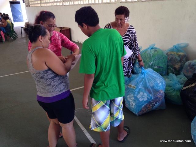 Soixante-dix familles sinistrées ont été recensées sur Mahina
