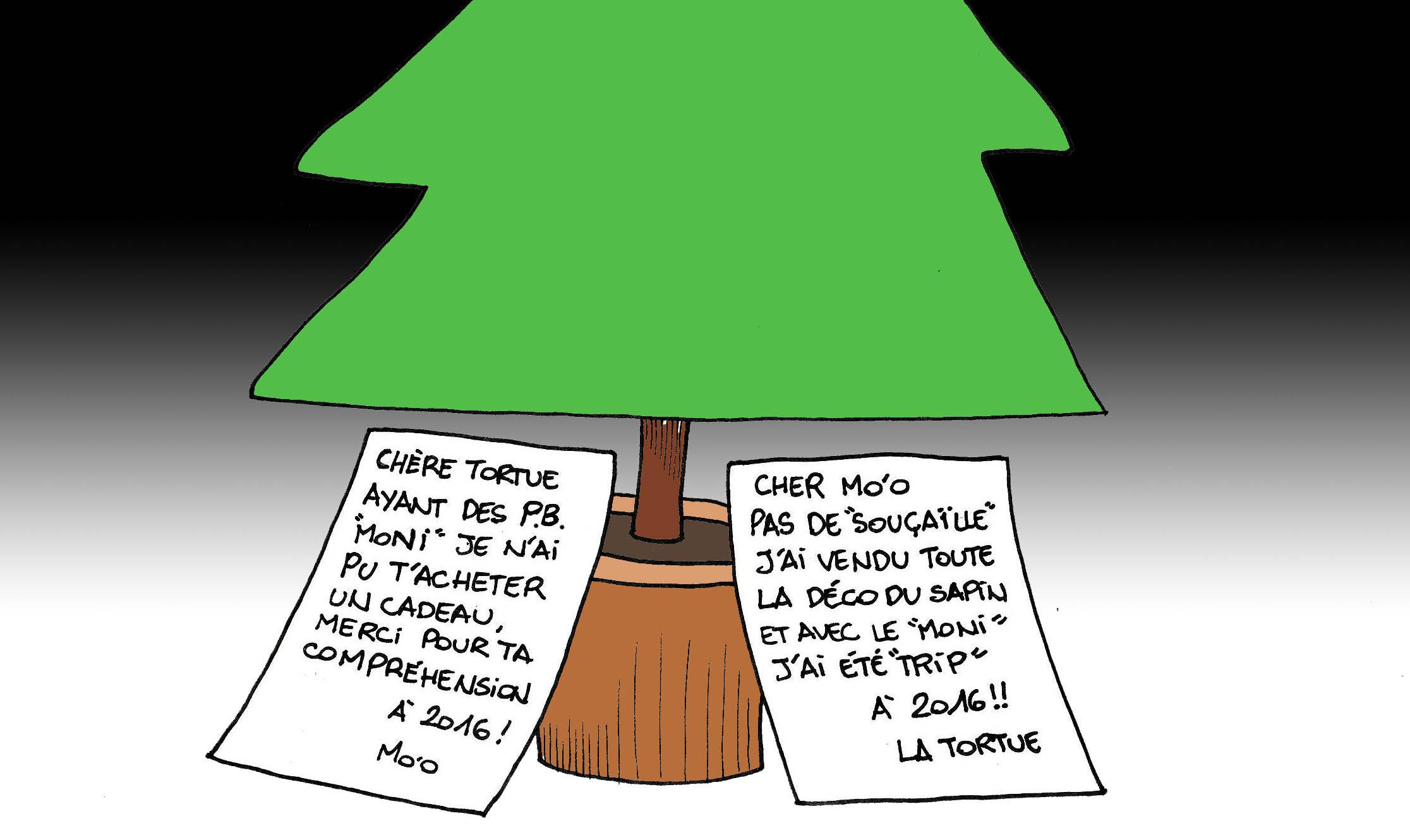 """""""Les cadeaux de Noël"""" par Munoz"""