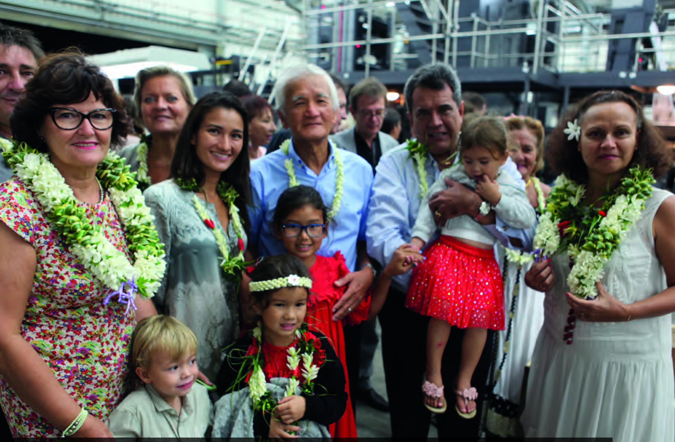 La rotative produit quotidiennement le journal Tahiti Infos à raison de 16 000 exemplaires. Mais aussi le magazine télé Fenua TV de 56 pages par semaine, l'hebdomadaire d'informations Tahiti Pacifique et le mensuel féminin Hine.