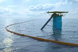 Un barrage en mer contre les déchets testé aux Pays-Bas