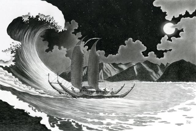 La Polynésie redessinée par Patrice Cablat