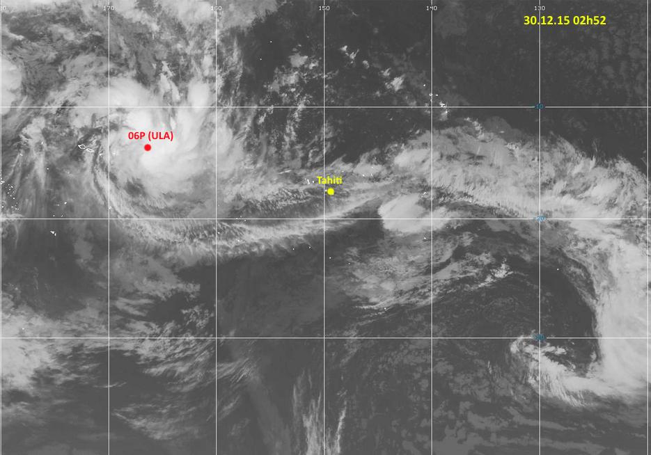 Deux tempêtes tropicales sévissent dans le Pacifique Sud