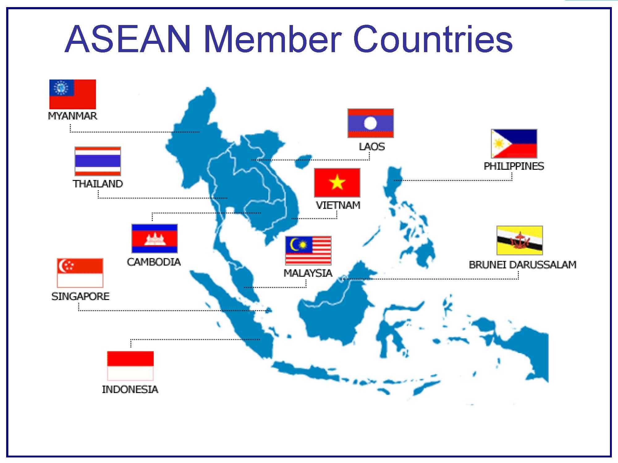 L'Asie du sud-est se dote d'une Communauté économique de l'Asean