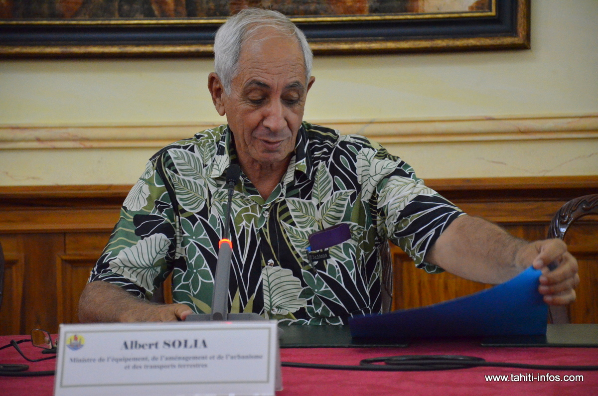 Albert Solia a présenté hier le plan de campagne que la Direction de l'équipement projette pour 2016 avec 12,3 milliards Fcfp de crédits de paiements.
