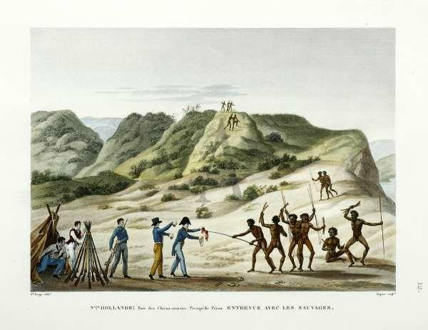A l'époque, les Aborigènes de la côte est de l'Australie étaient perçus comme des sauvages, tous soupçonnés de cannibalisme. Narcisse Pelletier fut, pour sa part, complètement adopté par son clan.