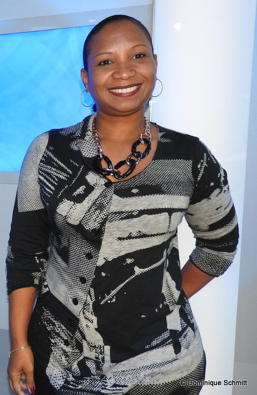 Nadine Félix, la nouvelle rédactrice en chef radio et télé.