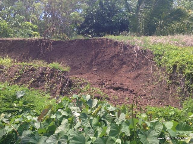 Magalie et sa famille craignent un nouveau glissement de terrain