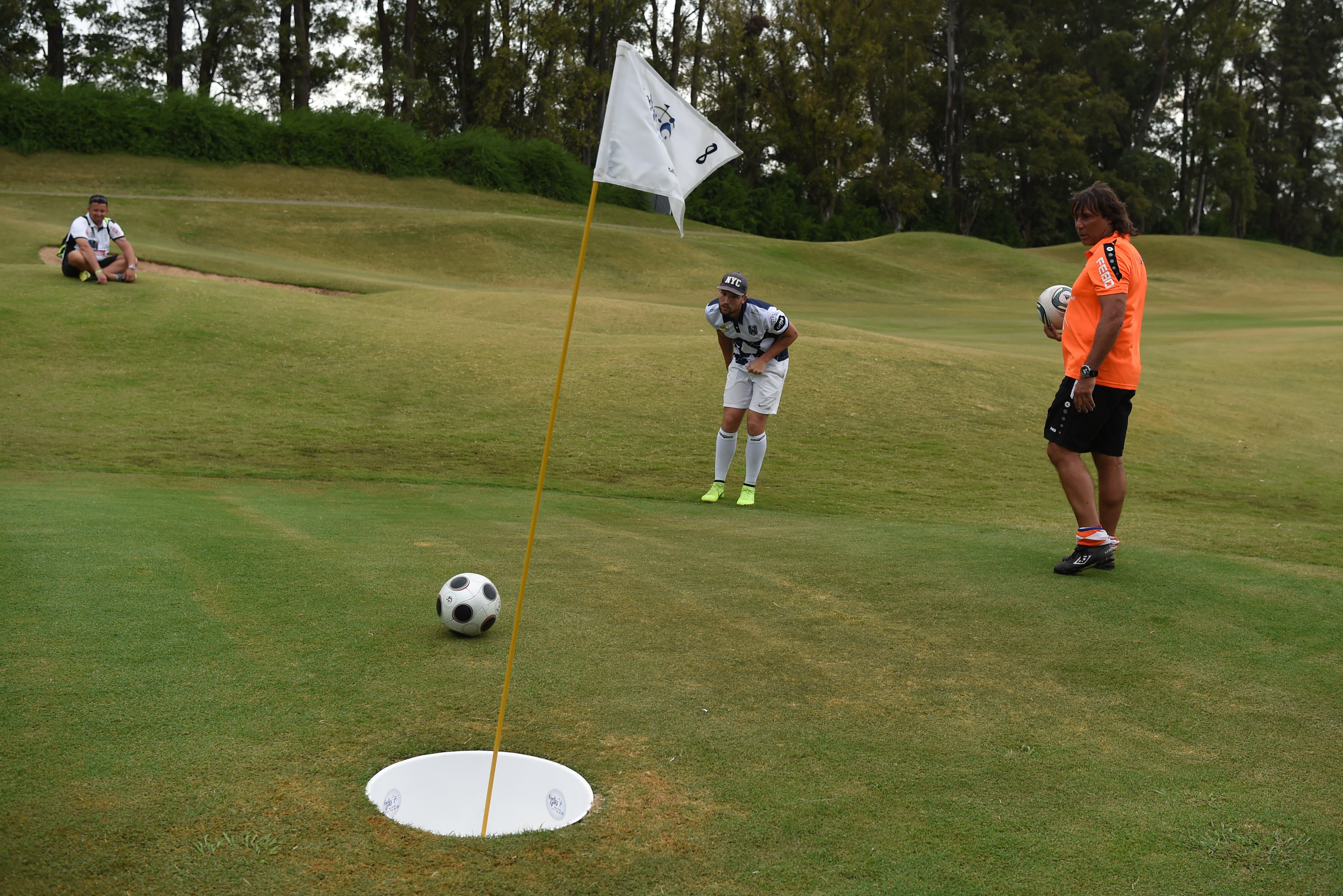 Au pays de Messi et Maradona, on joue au golf avec les pieds