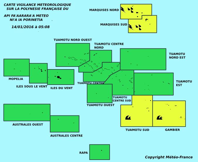 La dépression tropicale 08F s'intensifie en direction du Sud