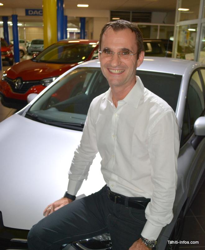 Gilles Bonvarlet, nouveau p-dg de Renault Sodiva