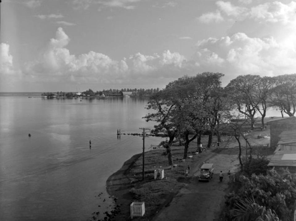 Papeete d'hier et d'aujourd'hui, le rivage de Paofai