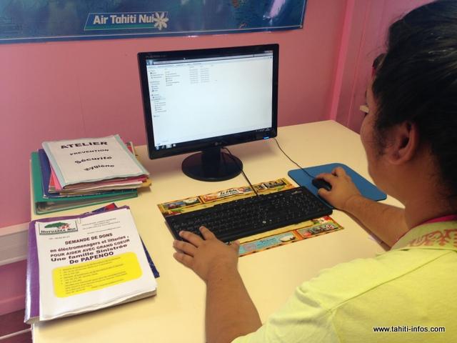 Araia travaille sur son projet depuis deux semaines. Un challenge de taille qui ne lui fait pas peur