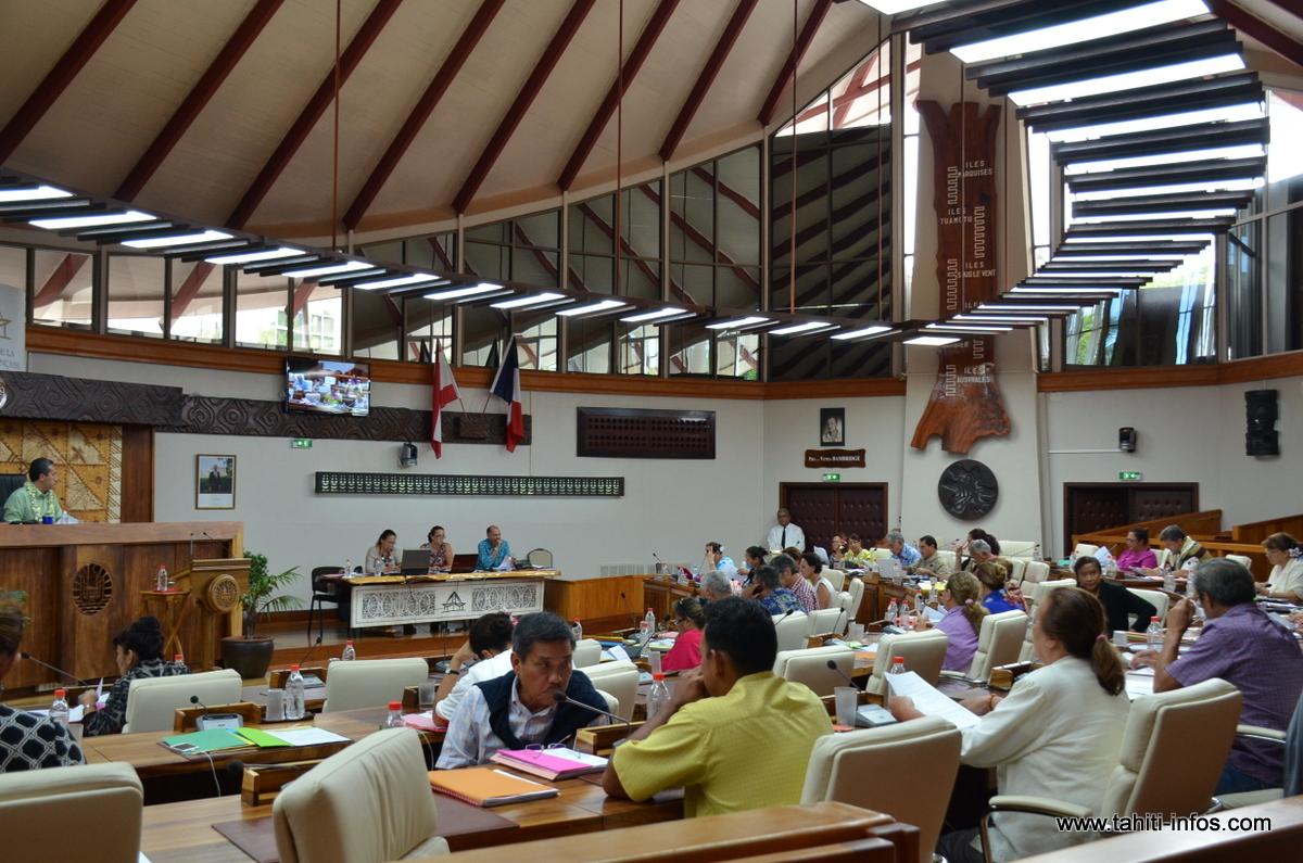 Assemblée : Edouard Fritch convoque une session extraordinaire le 26 janvier