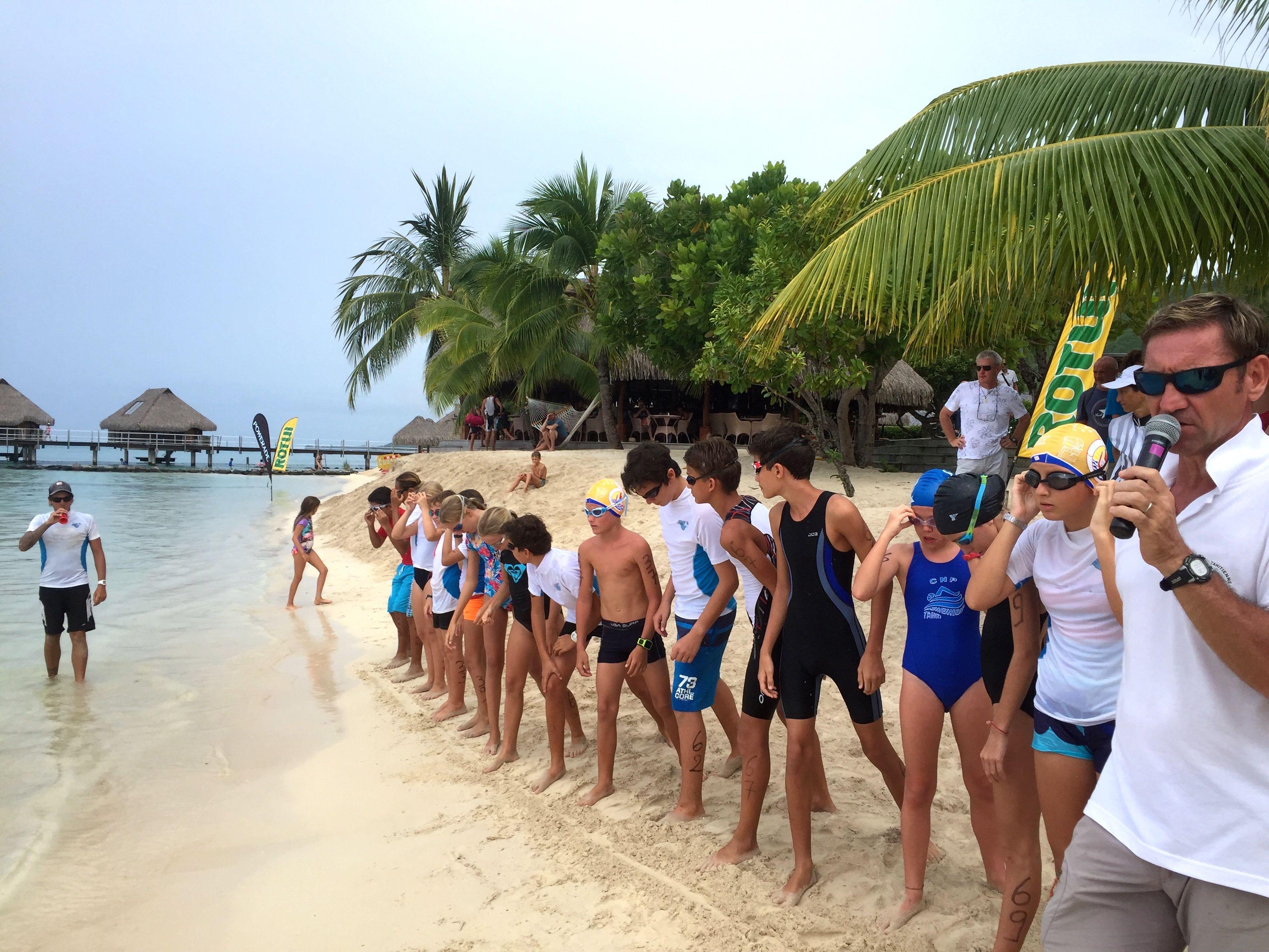 """Triathlon """"Triathlon du Hilton  Moorea"""" : Une première réussie"""