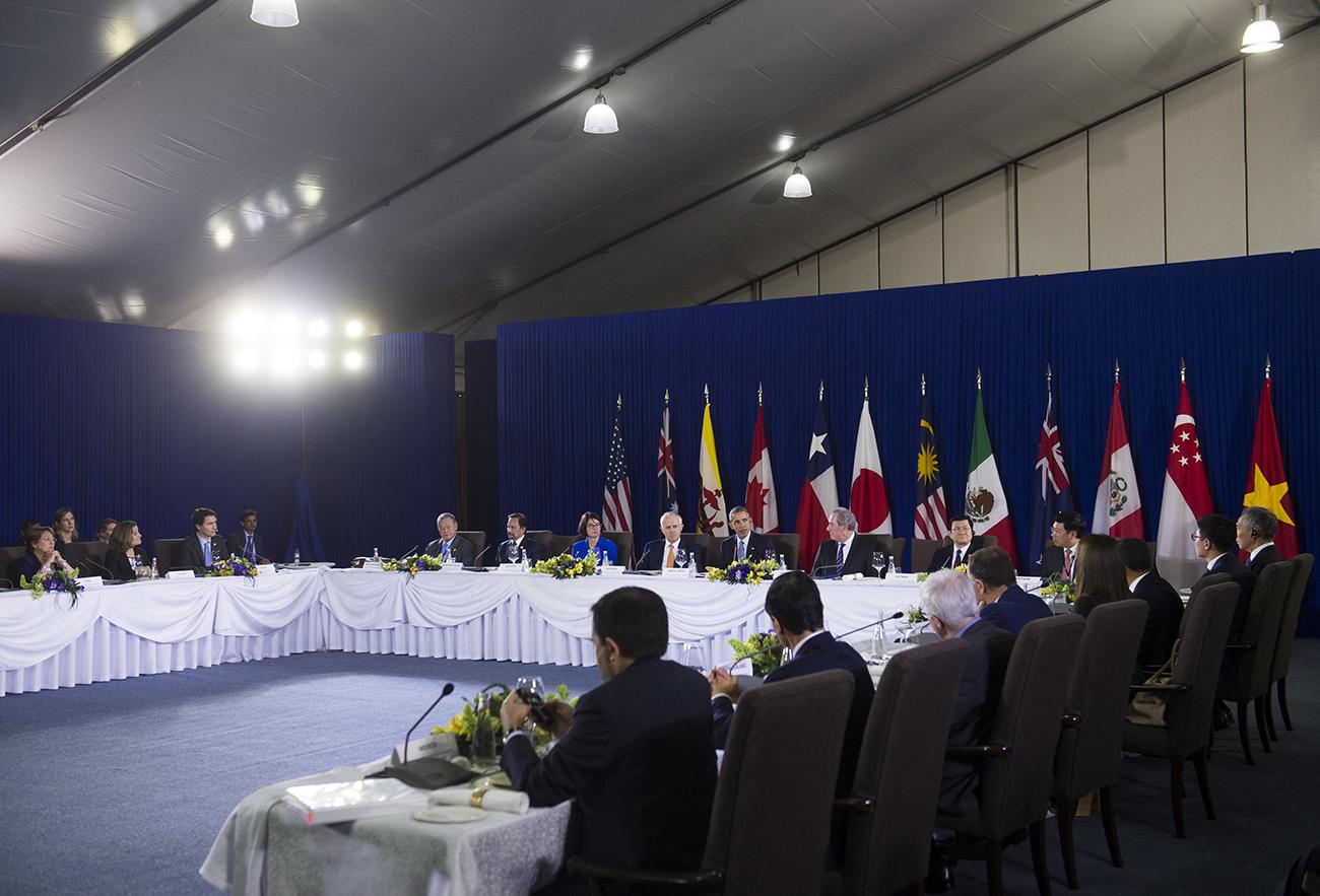 L'accord de libre-échange transpacifique (TPP) sera signé en février en Nouvelle-Zélande
