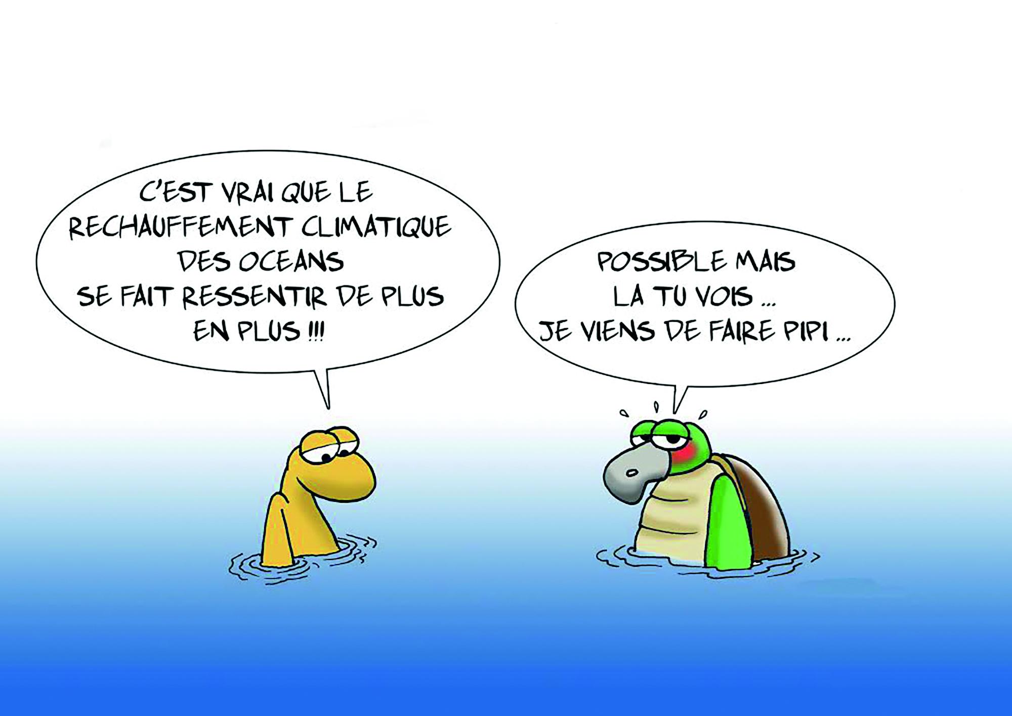 """""""La montée des eaux"""" par Munoz"""