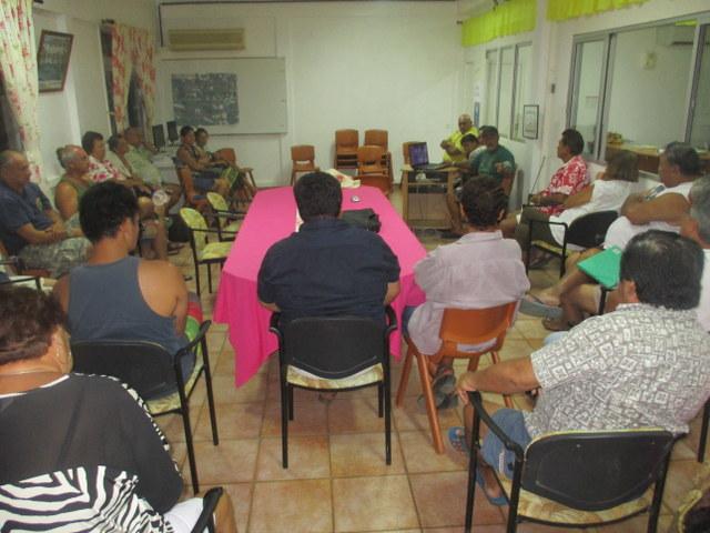 La rencontre entre le maire et les propriétaires concernés par la DUP, s'est déroulée dans le calme