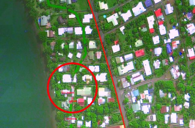 Selon Denis Helme, ces maisons sont à l'origine des problèmes d'inondations