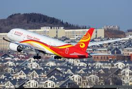 Hainan Airlines inaugure la ligne Changsha-Los Angeles le 21 janvier