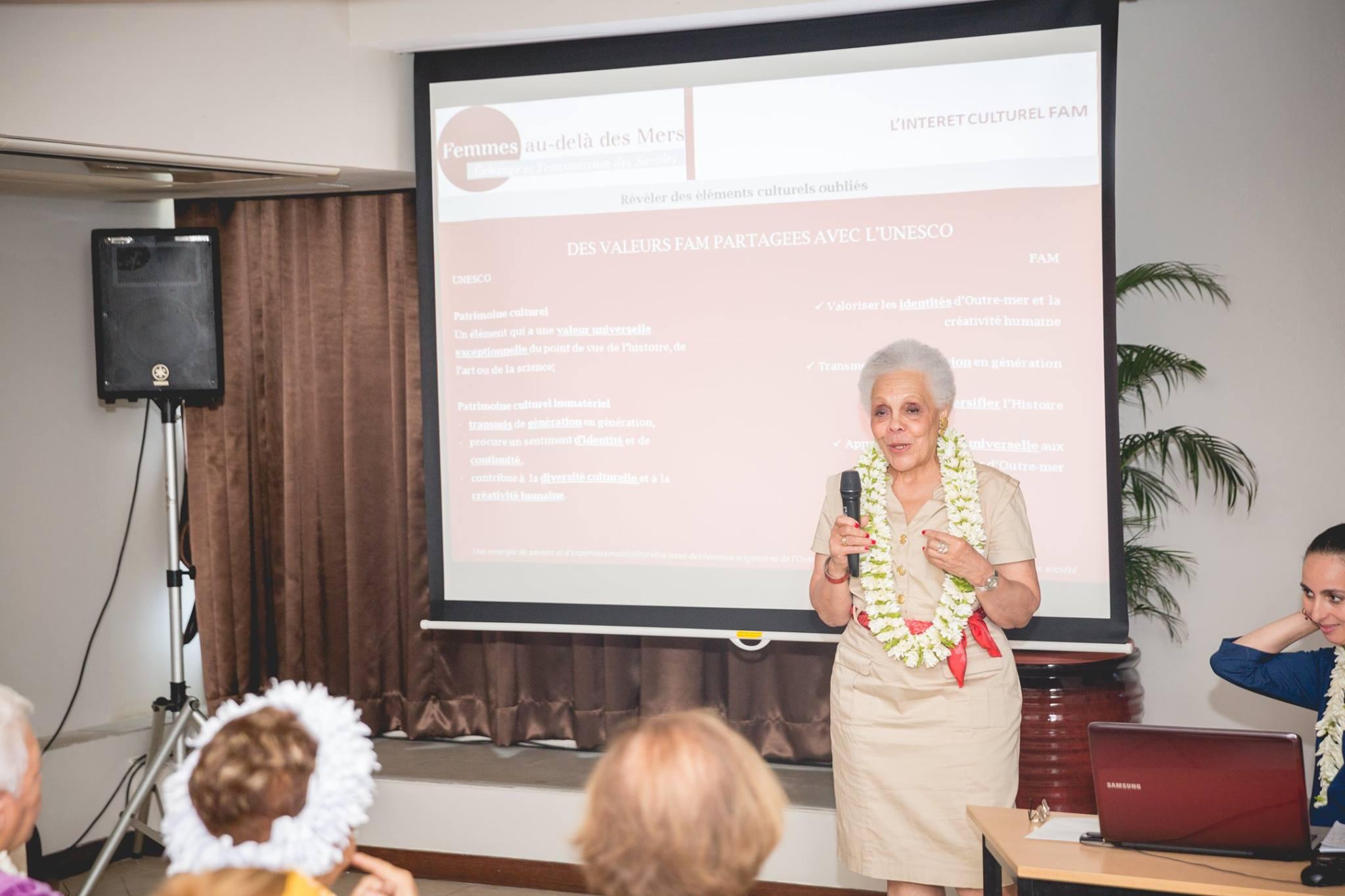 Gisèle Bourquin, originaire de Martinique, souhaite mettre en avant les savoirs des femmes ultramarines.