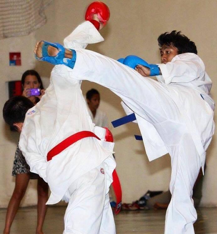 Karaté : Honoiti Lien prépare les championnats de France