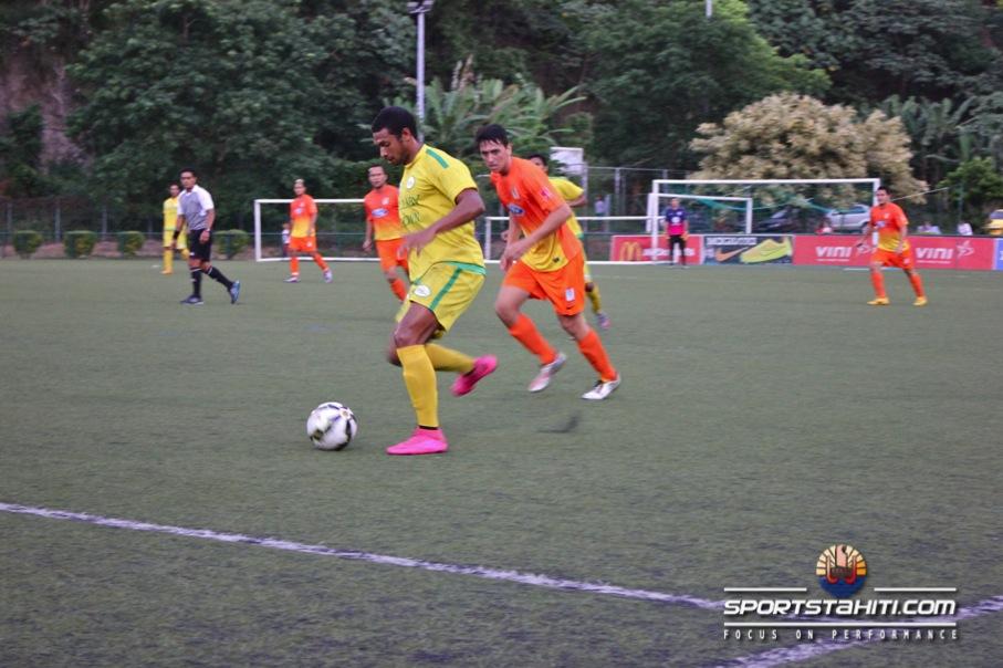 Football Ligue 1 Vini : Tefana repart de l'avant