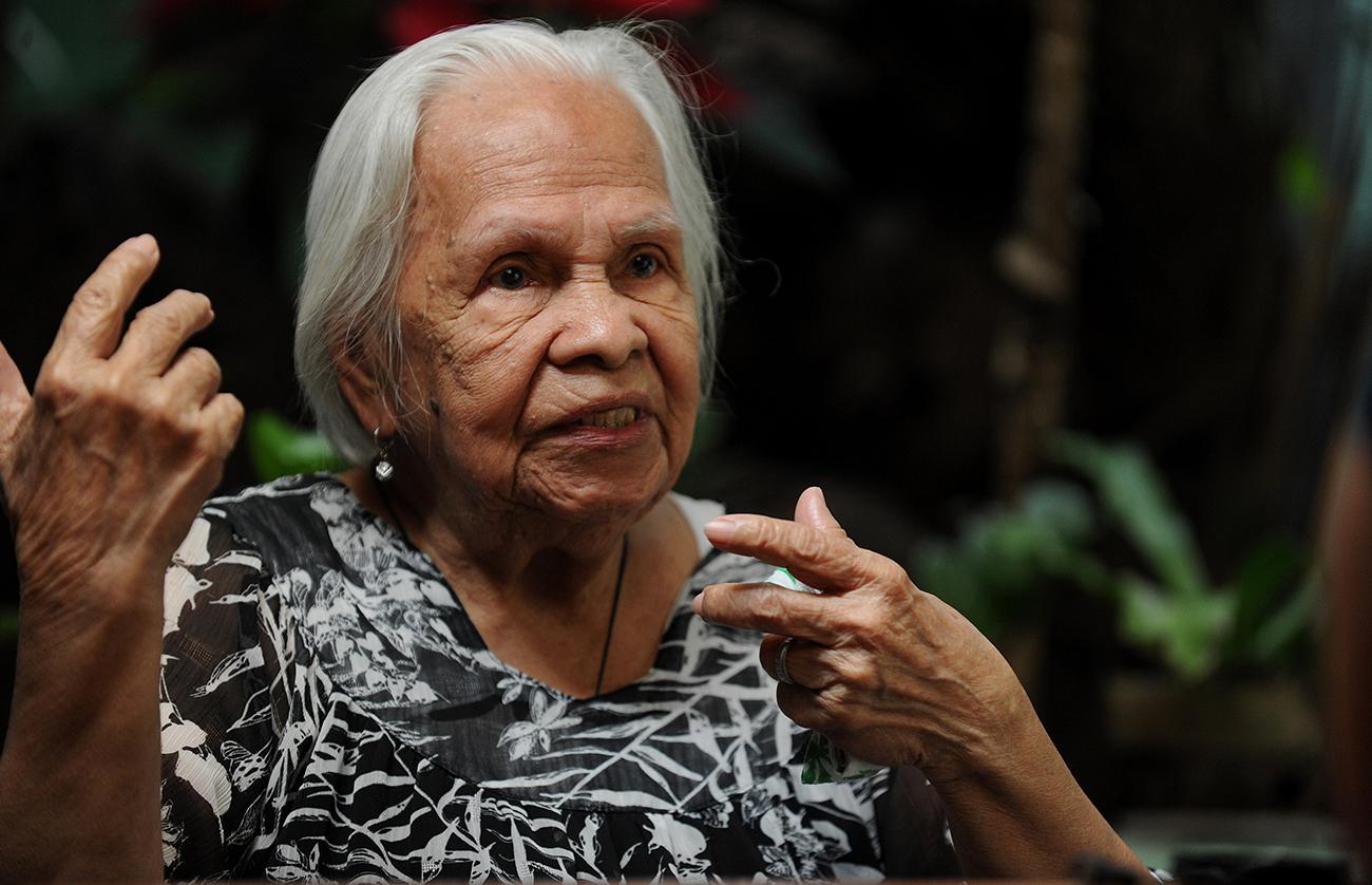 Les femmes de réconfort vieillissantes des Philippines demandent justice au Japon