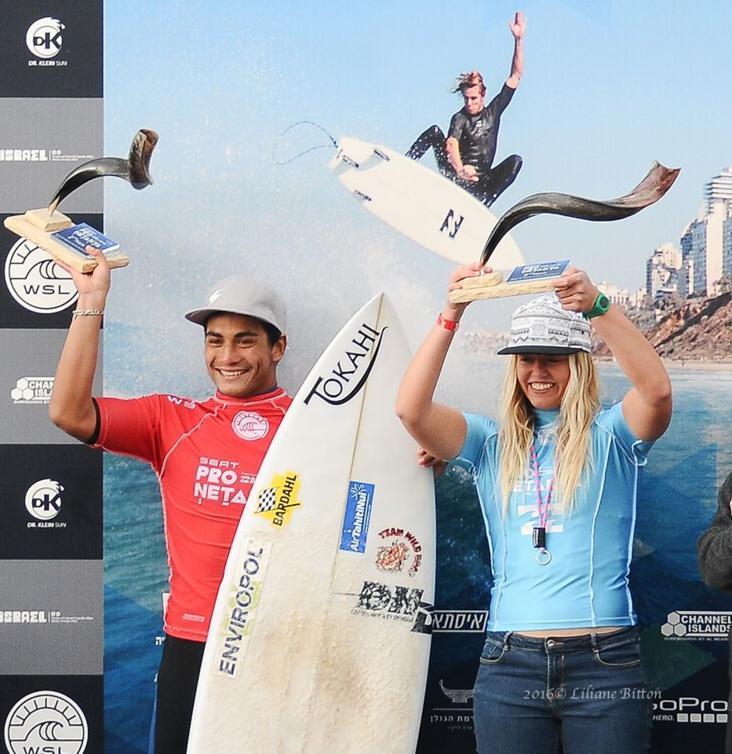 Surf « Seat Pro Netanya » : Une belle 2ème place pour Mihimana Braye en Israël