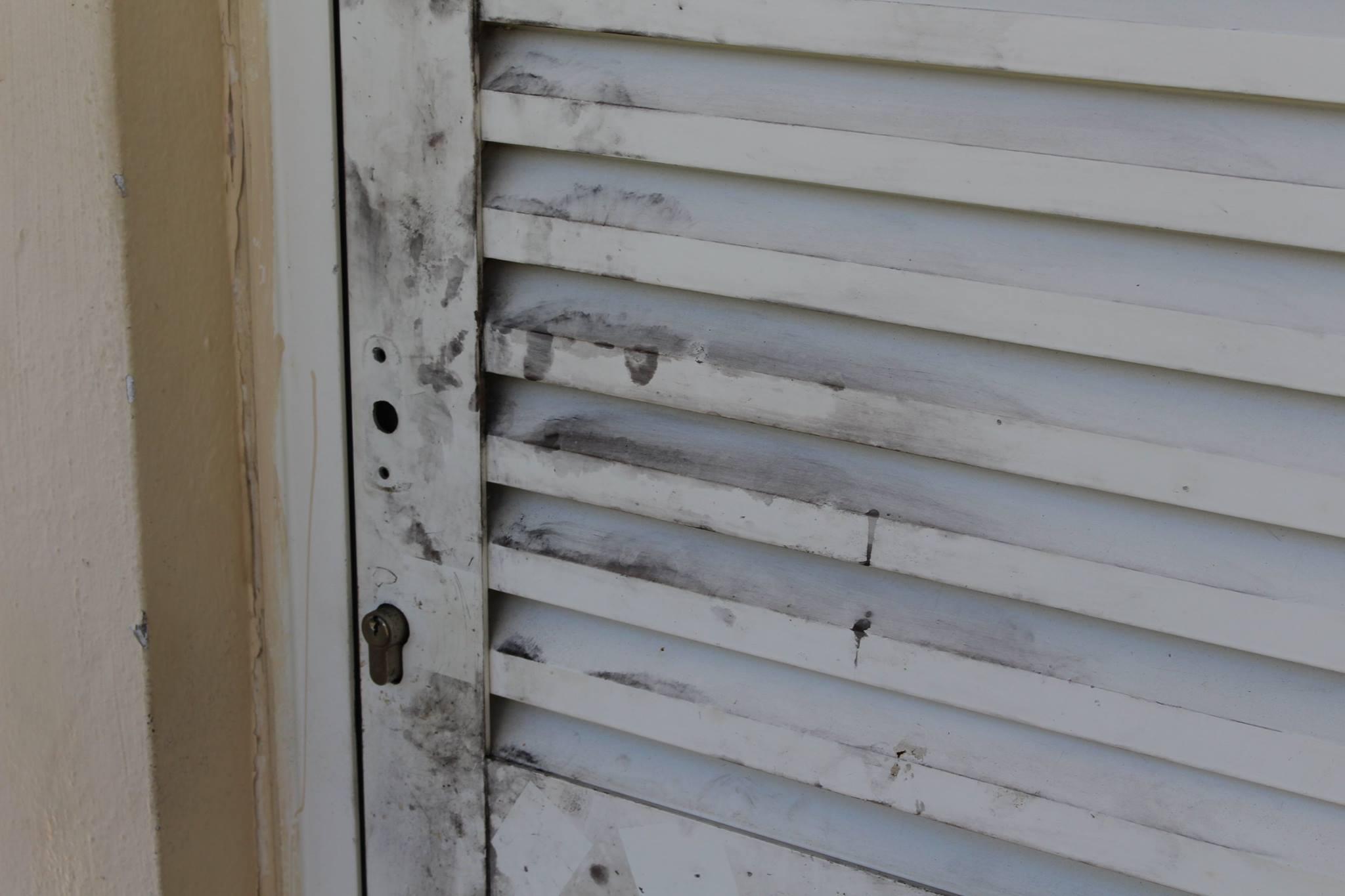 La porte du local où a été stocké le goûter des élèves, a été forcée