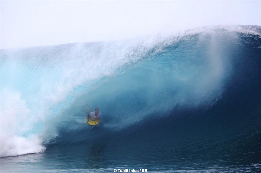 Il n'y aura pas que du surf cette année à Teahupo'o, une compétition de bodyboard internationale est programmée
