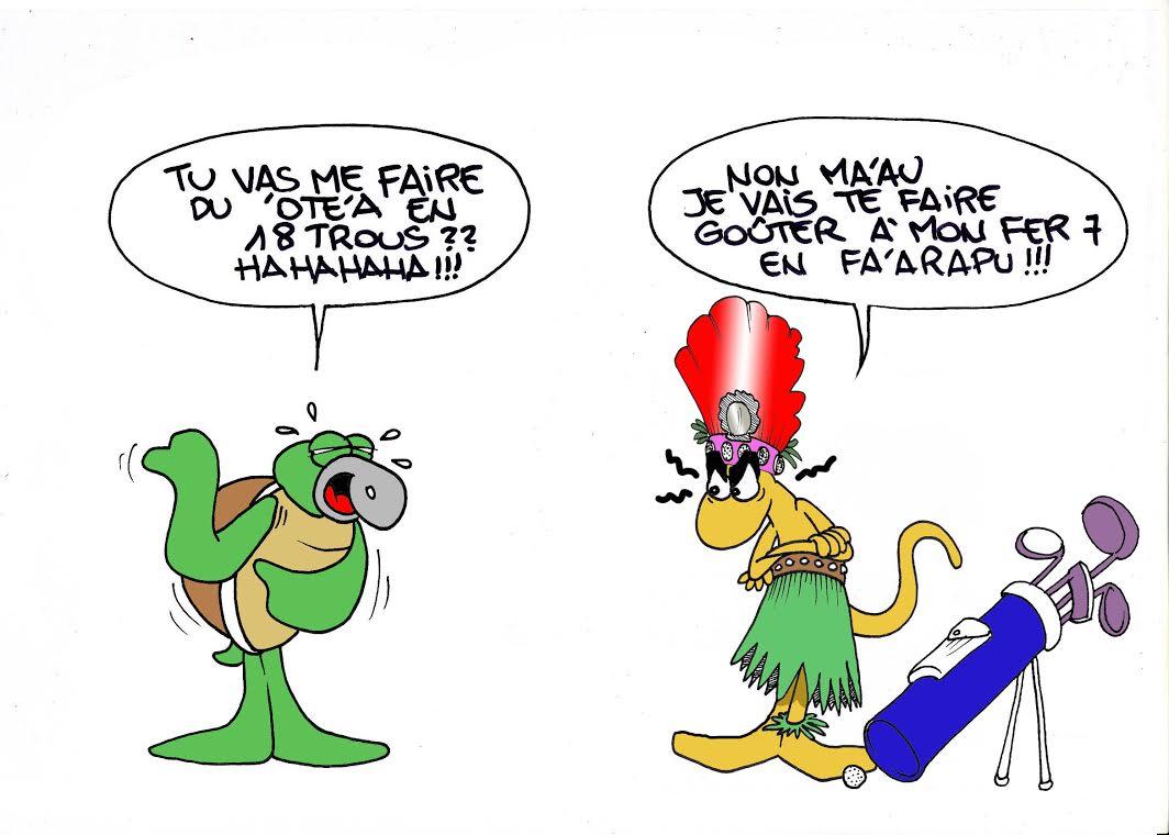 """Le ori Tahiti"" par Munoz"