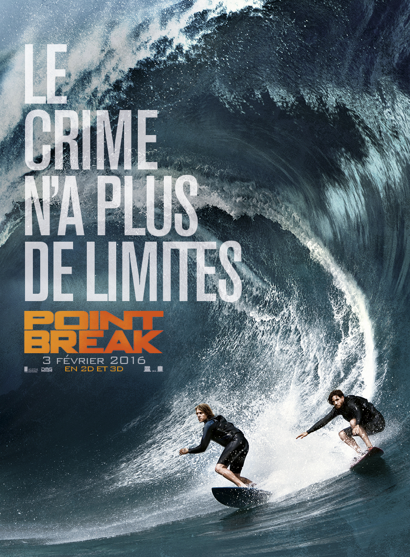 Point Break – Ce soir au Majestic : Le film promet du grand spectacle