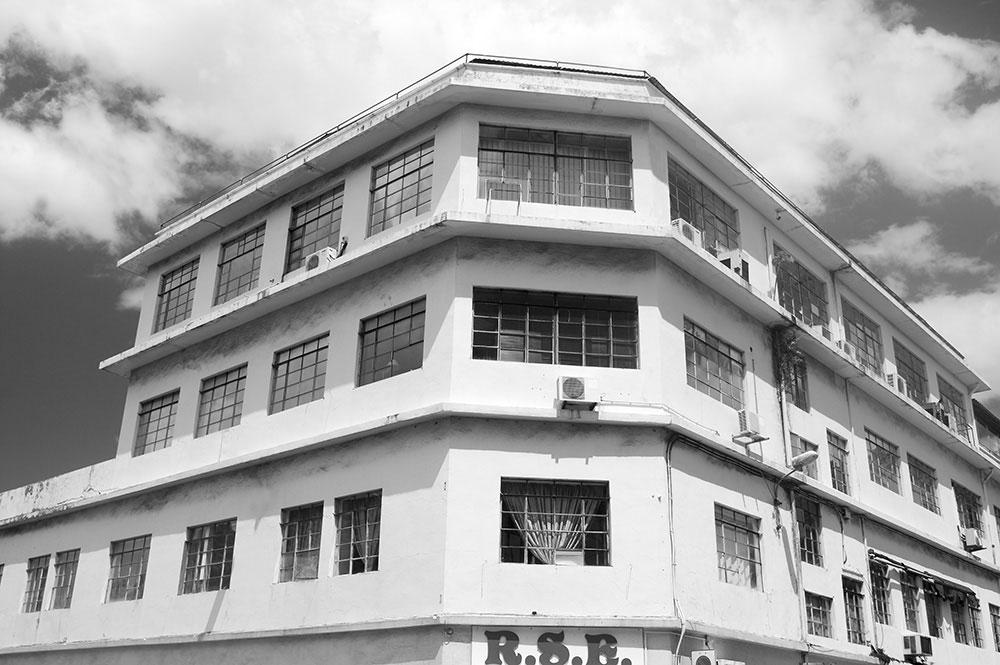 Des locaux chargés d'histoire (photo : tahitiheritage.pf)