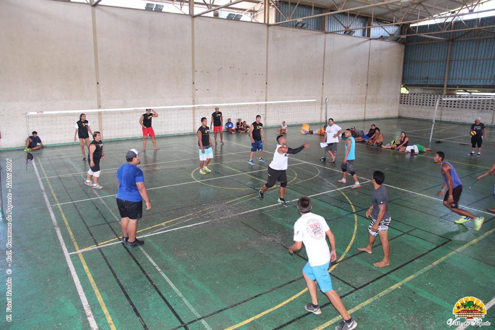 Ouverture de la Coupe du maire de volleyball