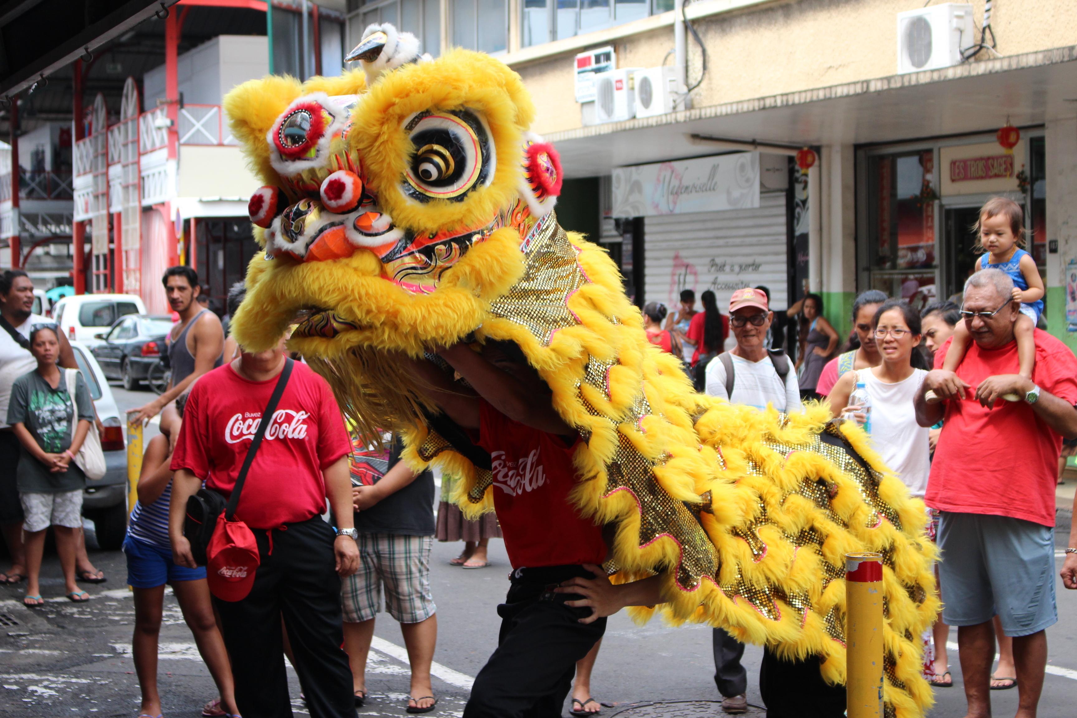 La communauté chinoise est entrée dans l'année du singe de feu