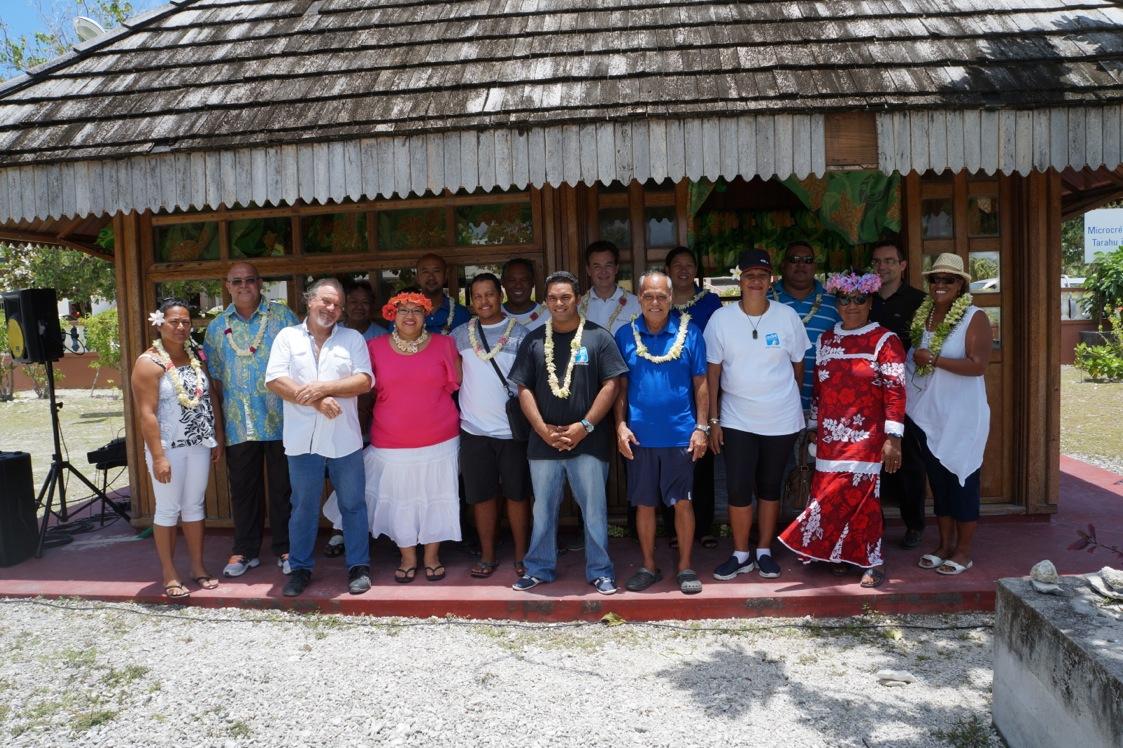 Les différents acteurs qui oeuvrent pour l'activité économique de l'atoll.