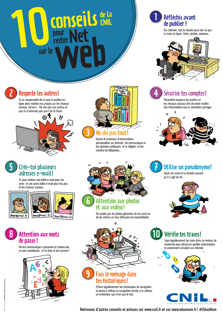 C'est la journée mondiale pour un internet plus sûr, mais connais-tu les dangers du web ?