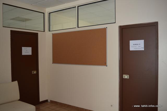 Les locaux de l'autorité de la concurrence, au rez-de-chaussée de l'ancienne présidence du Pays, sont encore en cours d'aménagement.
