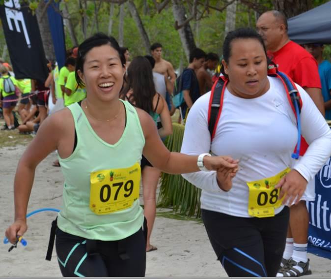 Une course ouverte à toutes les polynésiennes