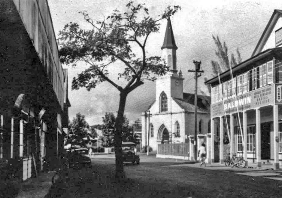La rue de Rivoli en 1958. Photo René Reboul